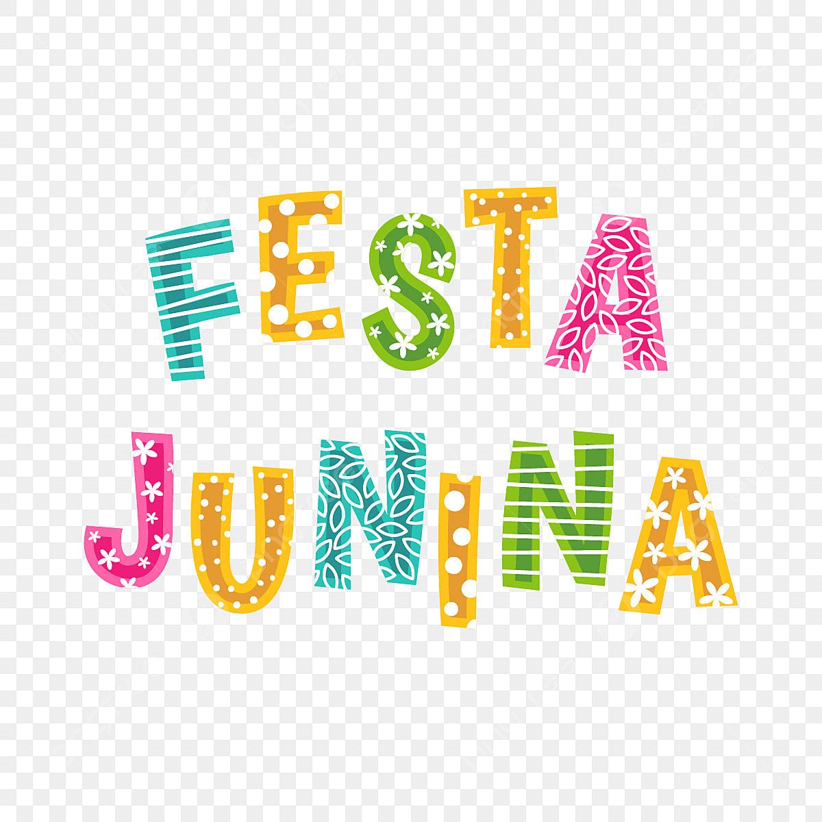Farbe Schrift Festa Junina Festa Junina Juni Urlaub Png