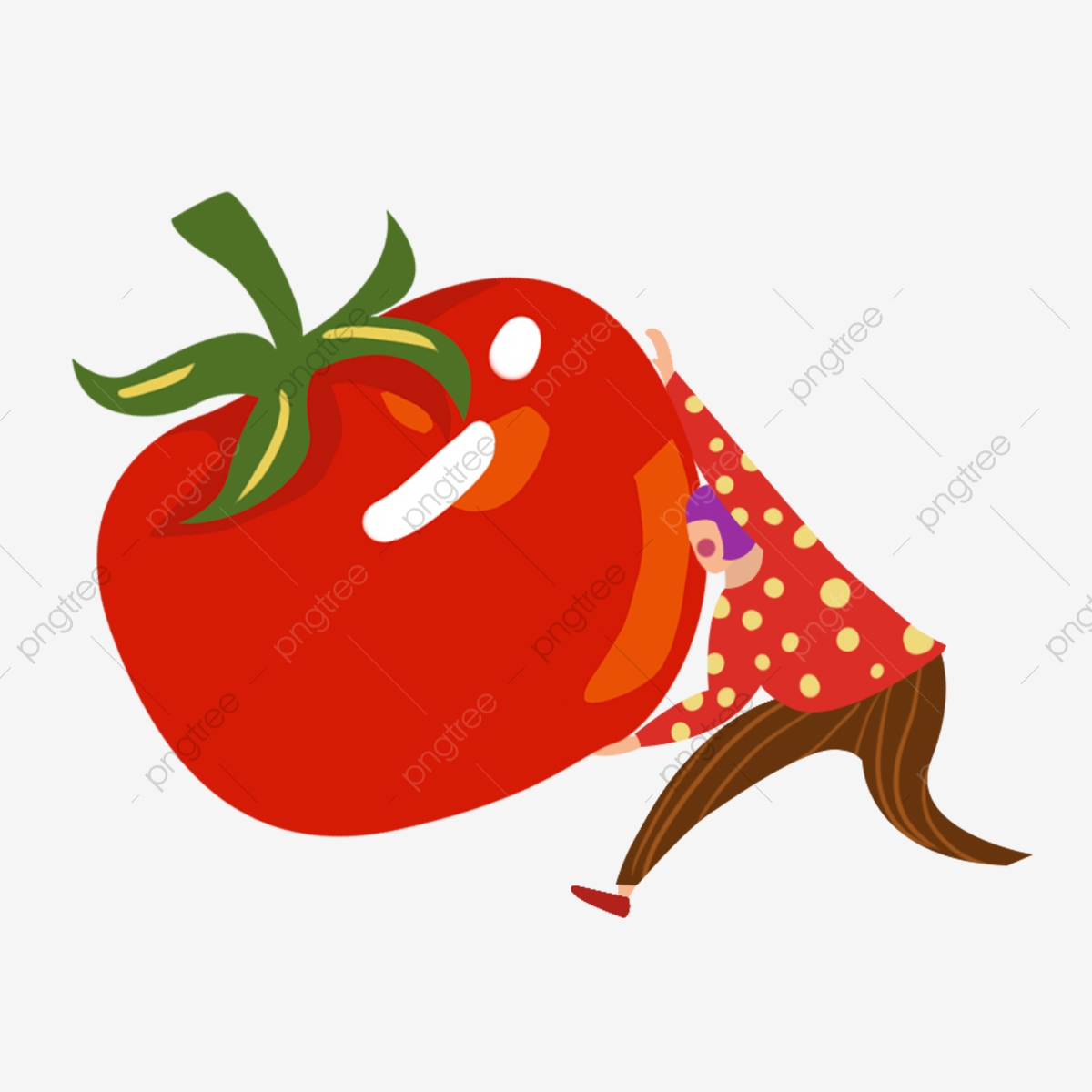 Unsur Komersial Untuk Orang Yang Berjuang Memindahkan Tomato