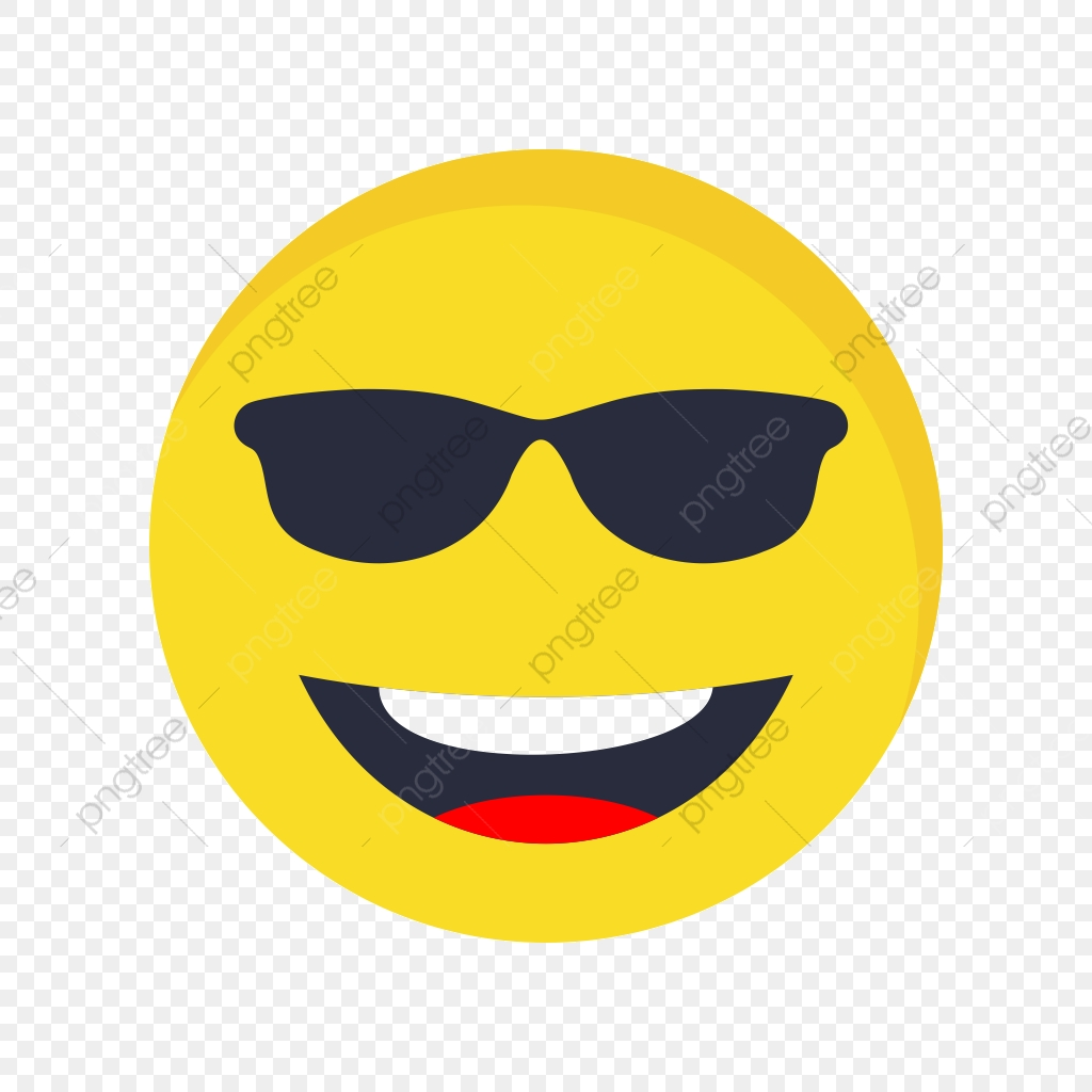 cool emoji iconos vector cool emoji emoticon png y vector