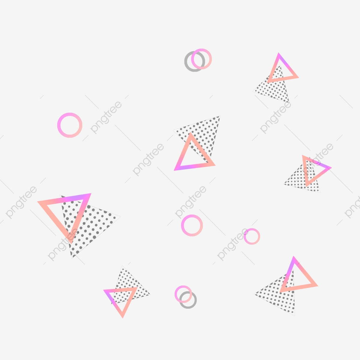 cool gradient geometric floating element png picture  cool  gradient  colorful png transparent