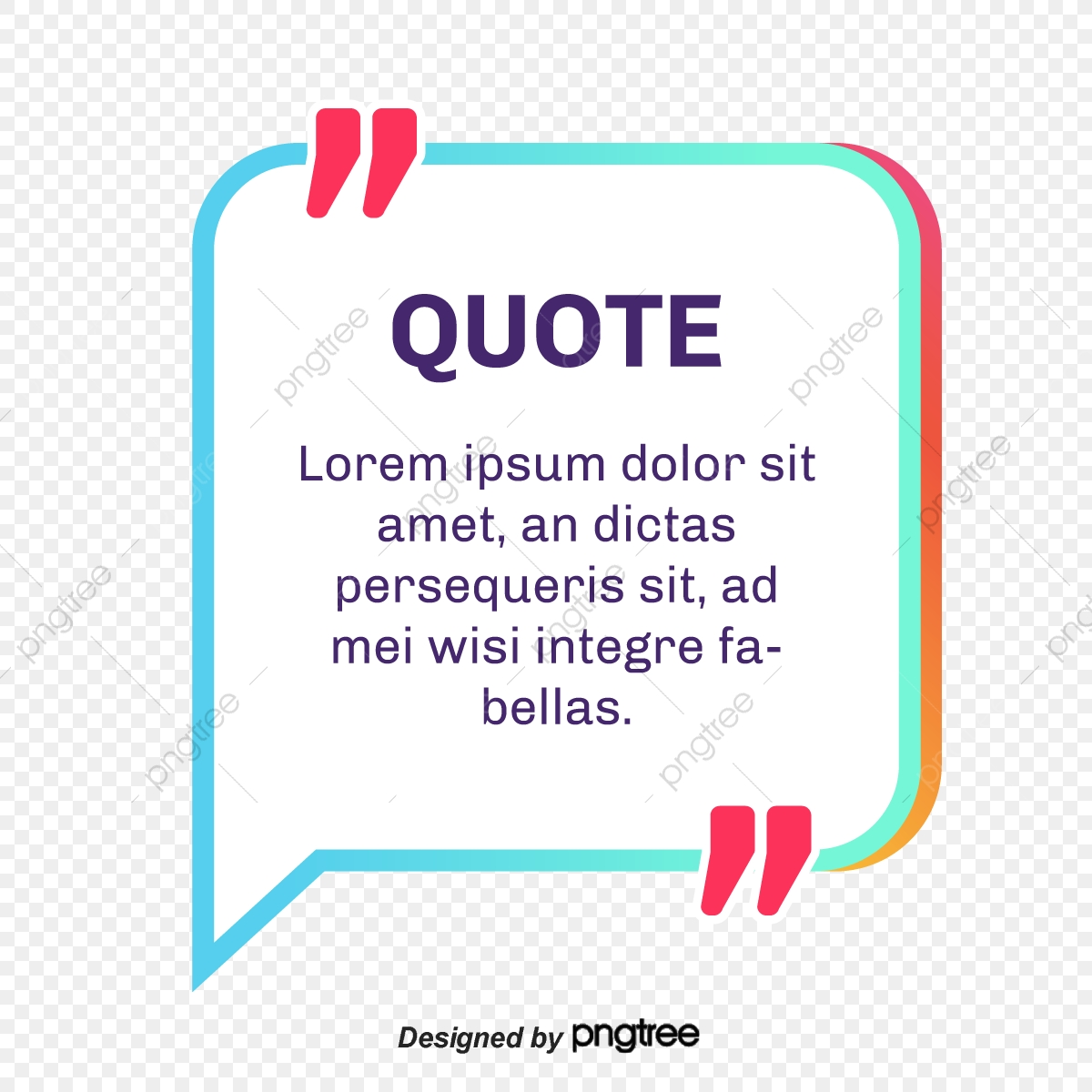 Quotes Png, Vector, PSD, and Clipart With Transparent Background