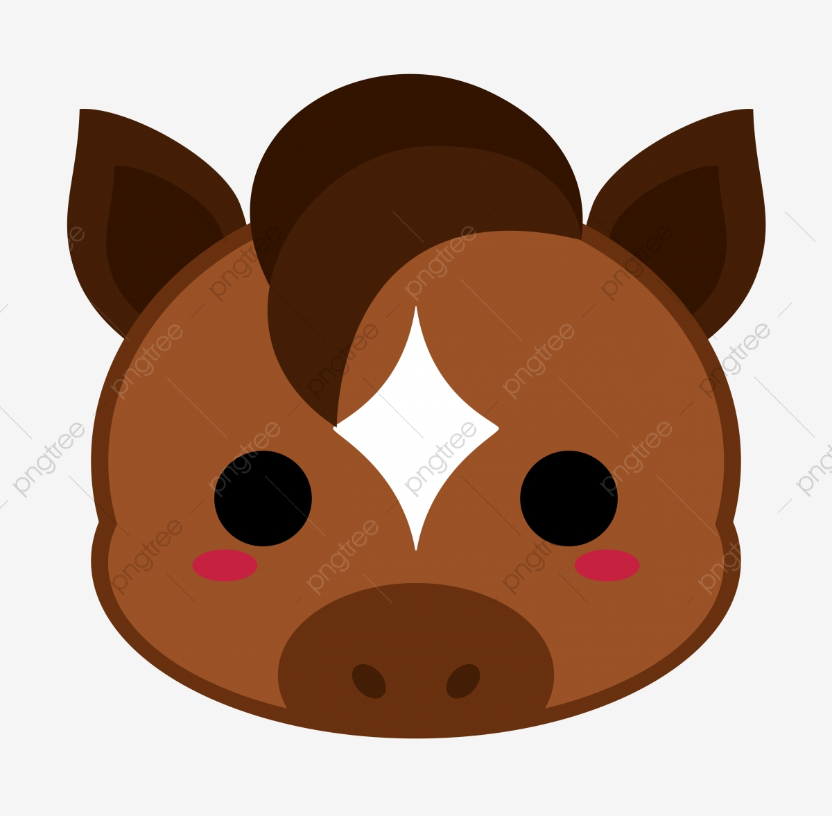 Horse Head Png Images Vector And Psd Files Free Download On Pngtree