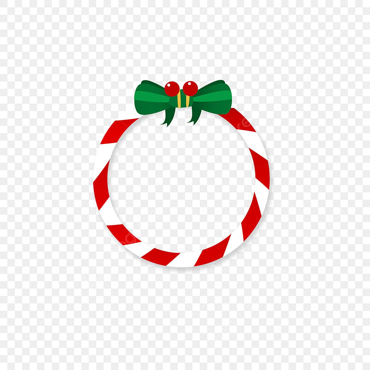 Design Element Christmas Border, Christmas, Frame, Round Frame PNG ...