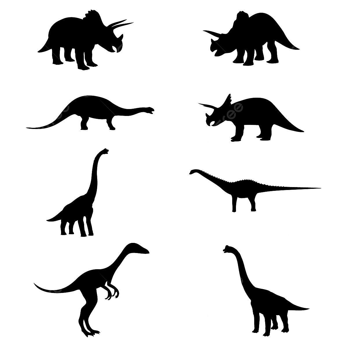 dinosaur silhouette ancien animal brachiosaurus png et