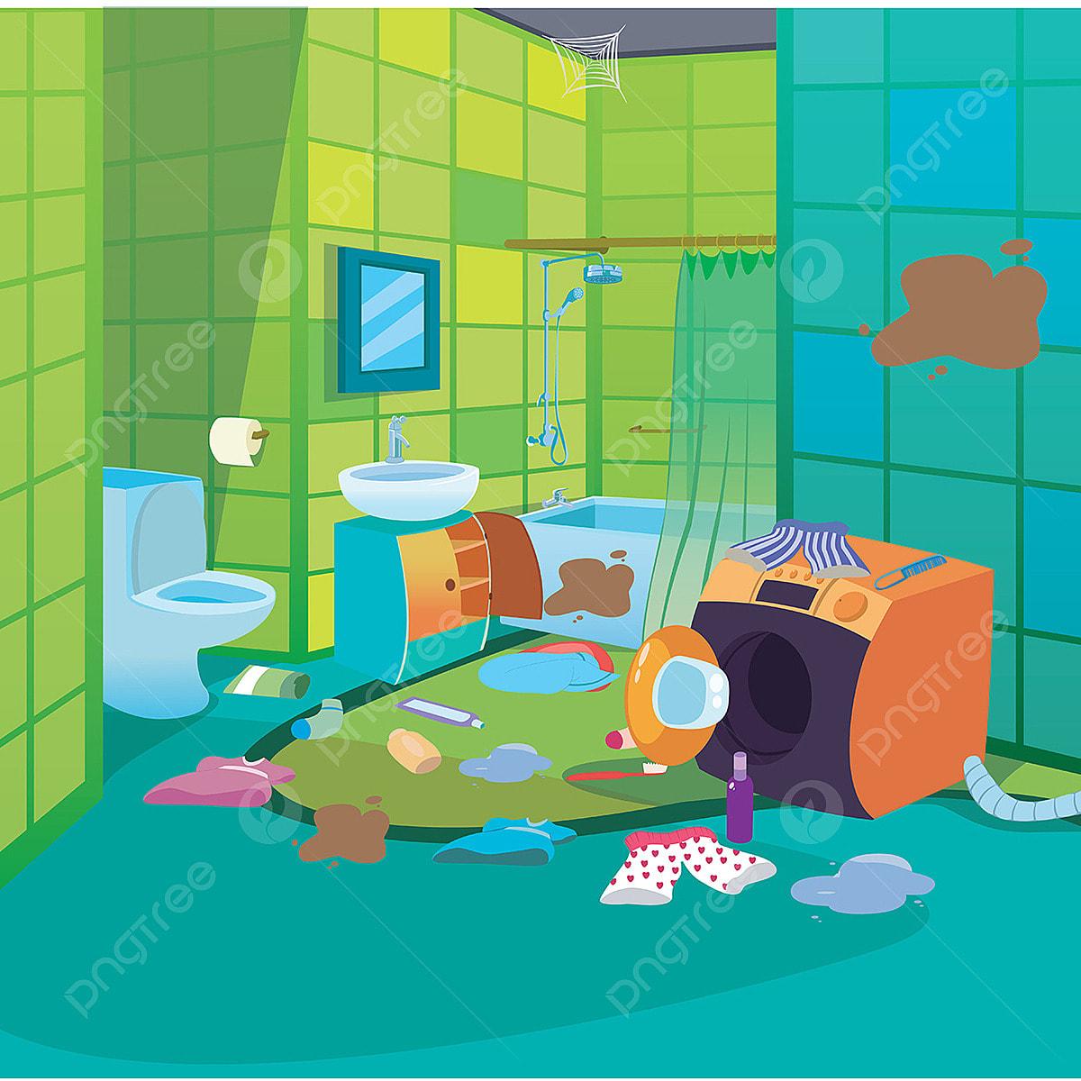 5100 Koleksi Gambar Animasi Rumah Yang Kotor HD Terbaru