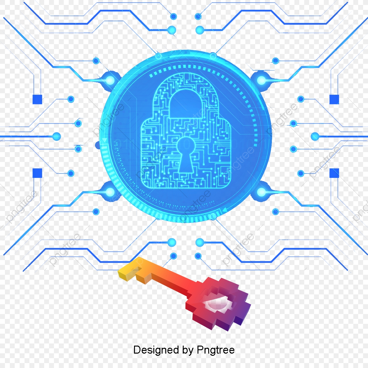 Electronic Encryption Money Technology Digital Geometric