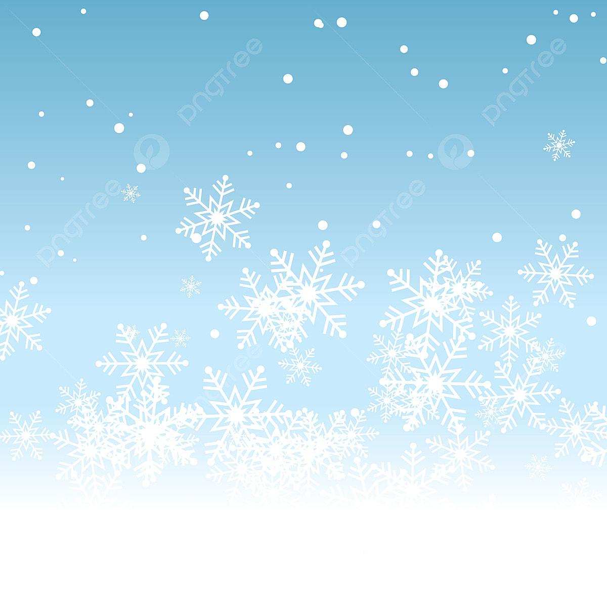 Christmas Background Vector.Elegant Snowflake Christmas Background Vector Illustration
