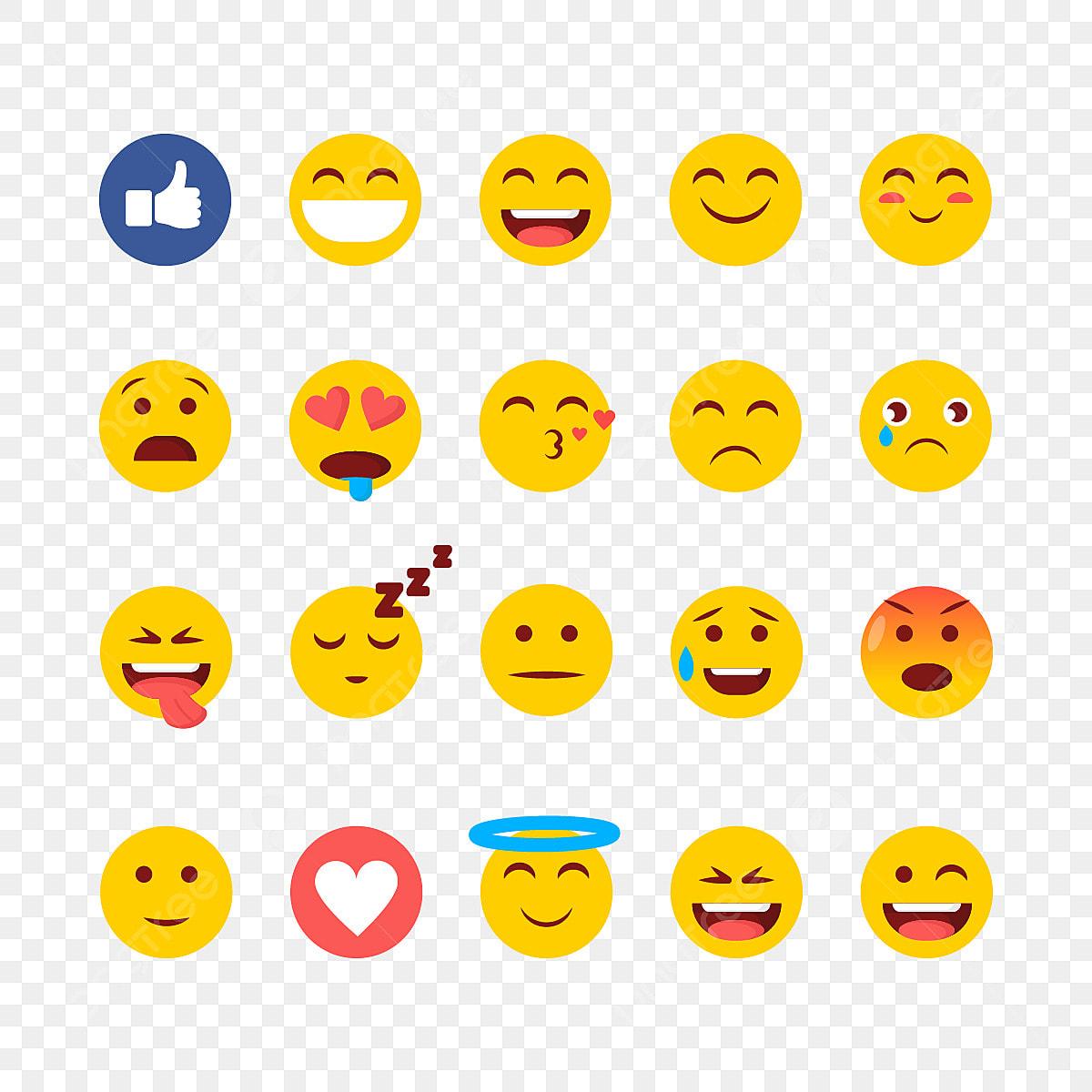 Funny Emoji Facebook Reactions, Facebook, Emoji, Like PNG