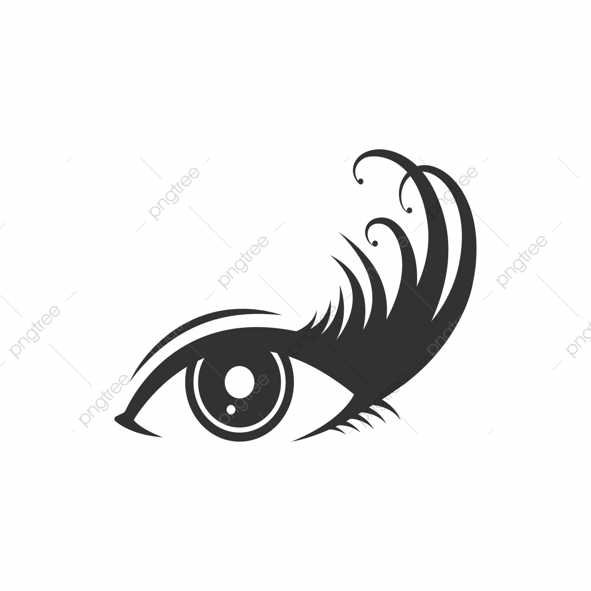 les cils logo ic u00f4ne mod u00e8le r u00e9sum u00e9 art contexte png et vecteur pour t u00e9l u00e9chargement gratuit