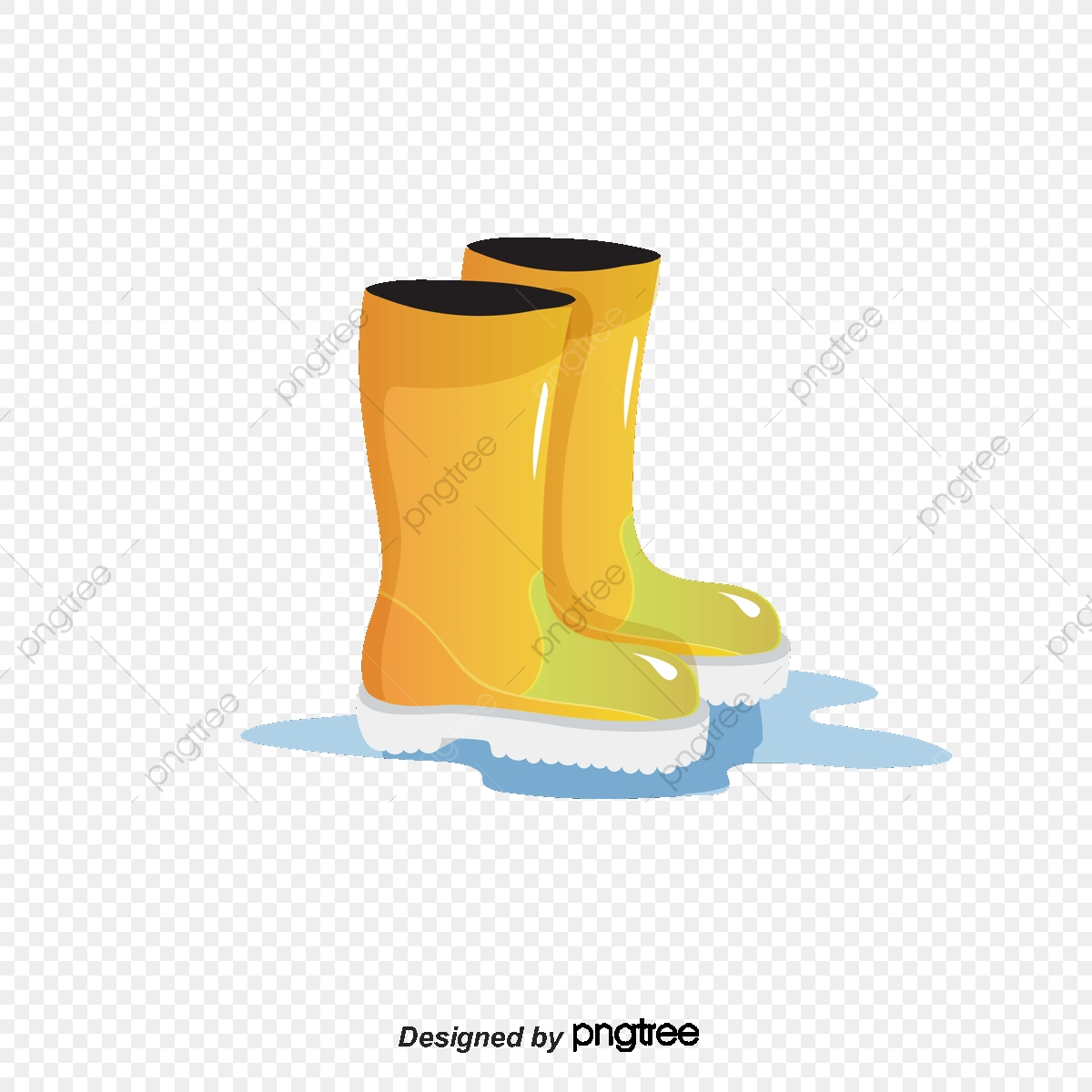 Falling Snow Boots Beautiful Boots Cartoon Boots Boots ...