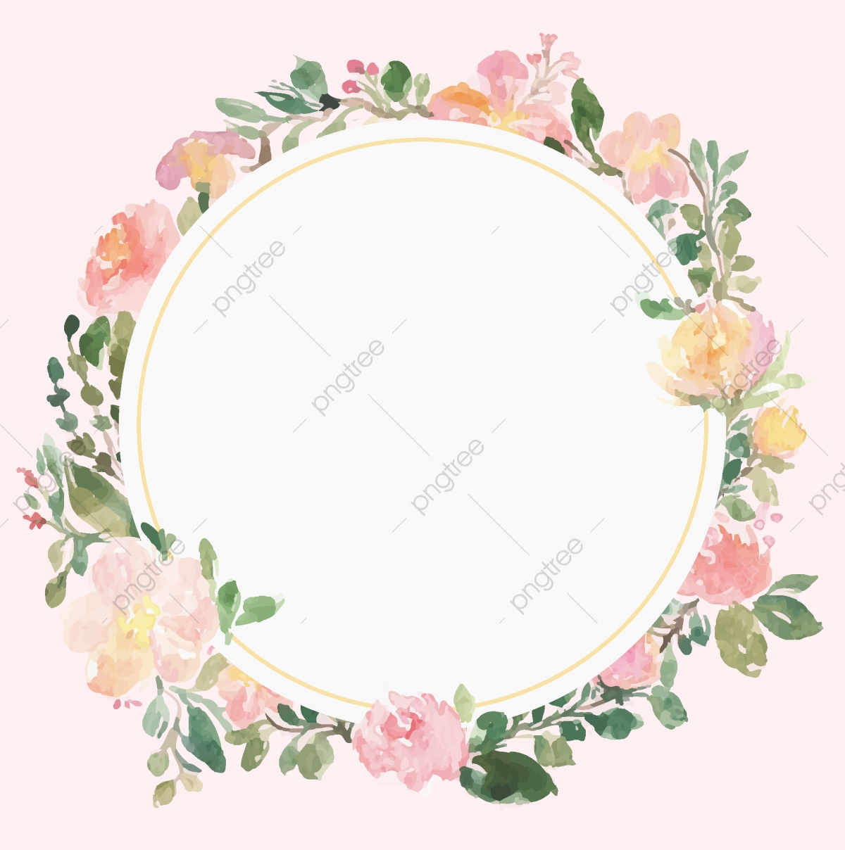 floral frame vector beautiful wreath elegant floral collection with flower watercolor floral png and vector with transparent background for free download https pngtree com freepng floral frame vector beautiful wreath elegant floral collection with 3636352 html