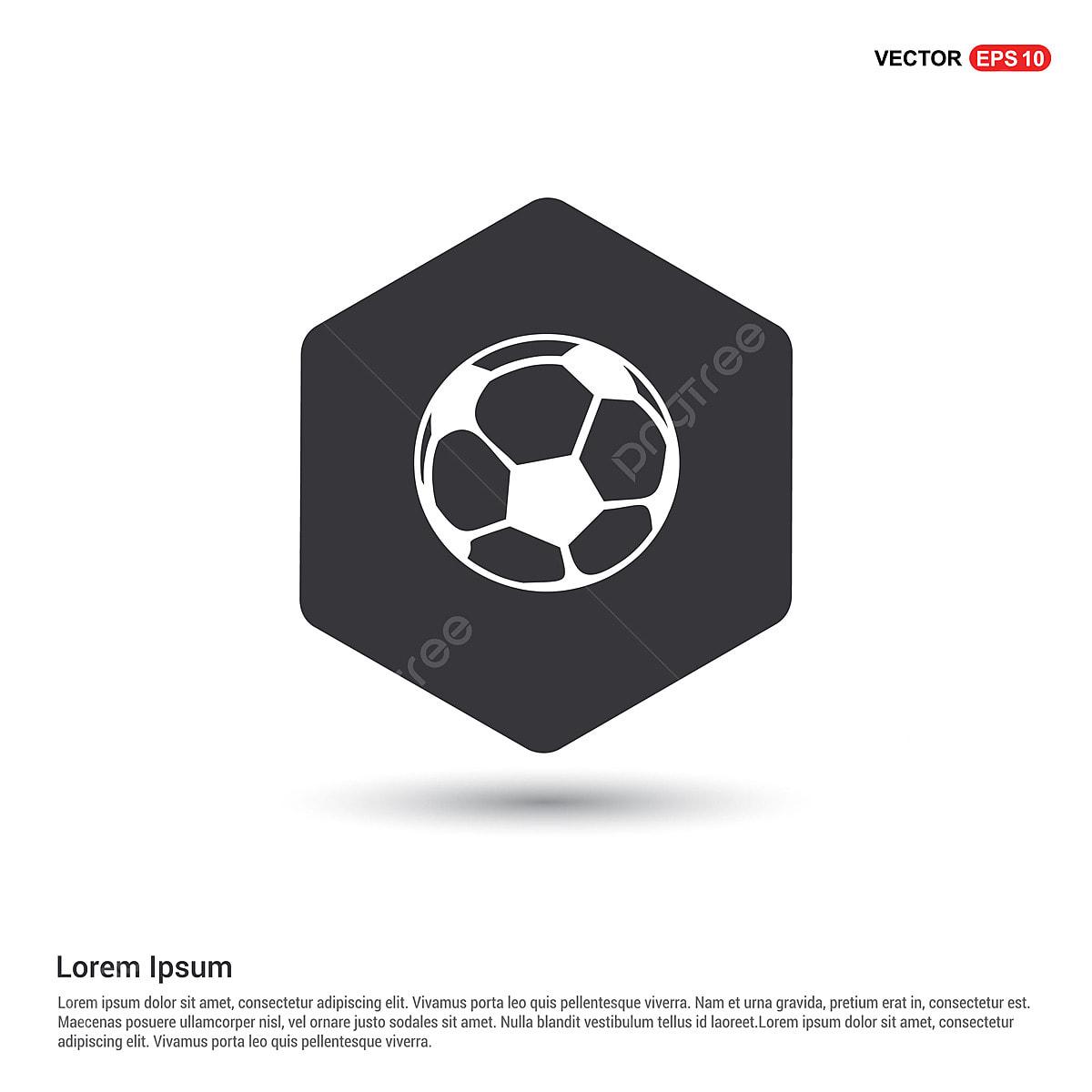 Fussball Ikone Ball Symbol Fussball Png Und Vektor Zum