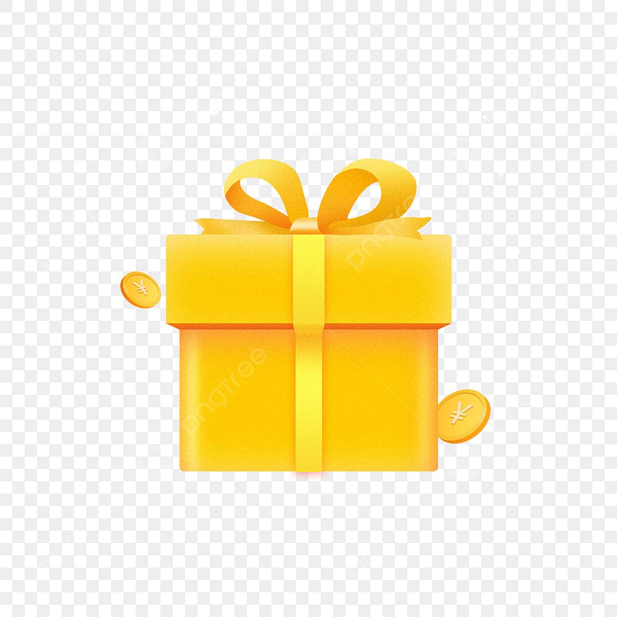 الذهب هدية هدية هدية هدية مربع ذهب ذهبي شريط Png وملف Psd للتحميل مجانا