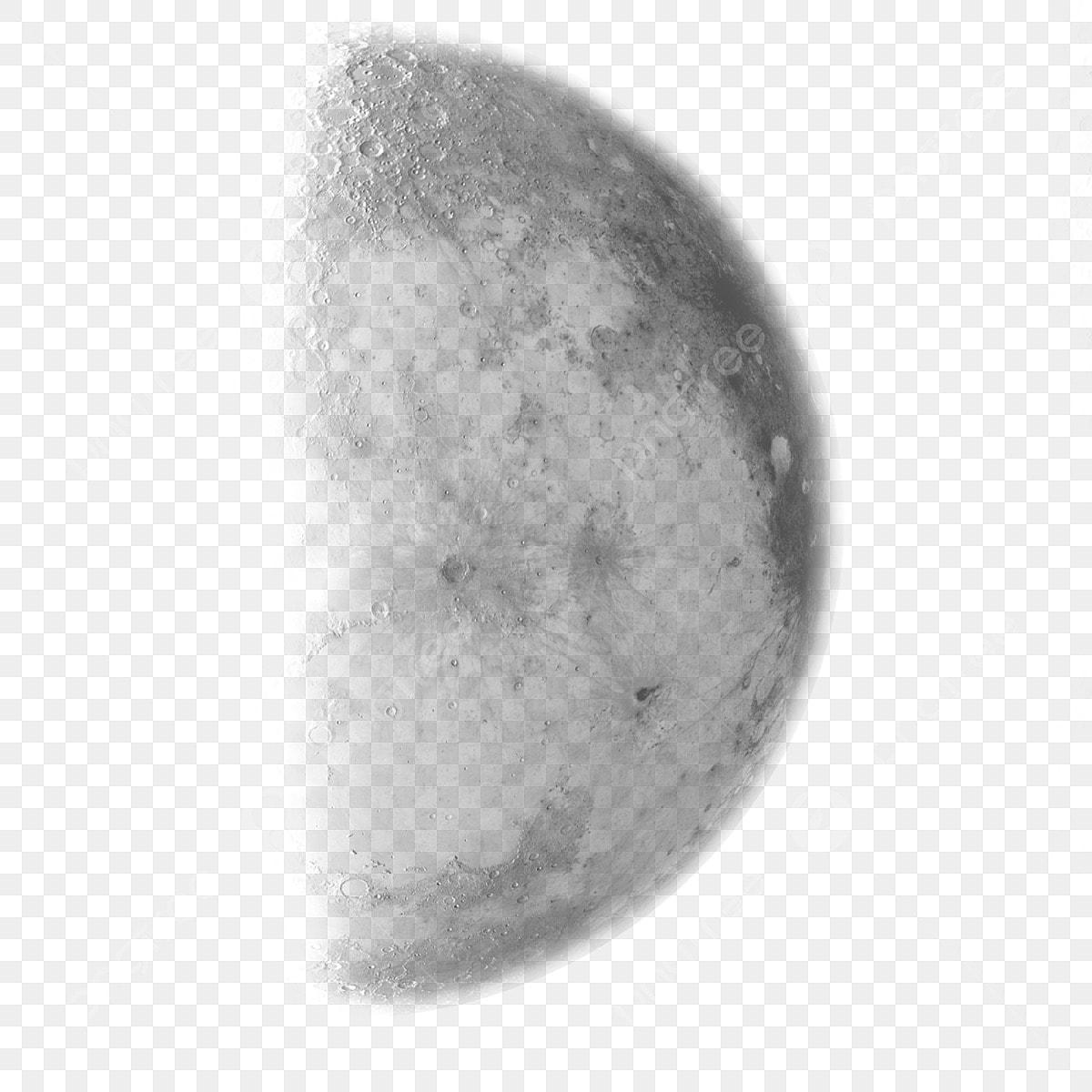Half Moon Clipart Transparent Picsart Png Moon Png Clipart