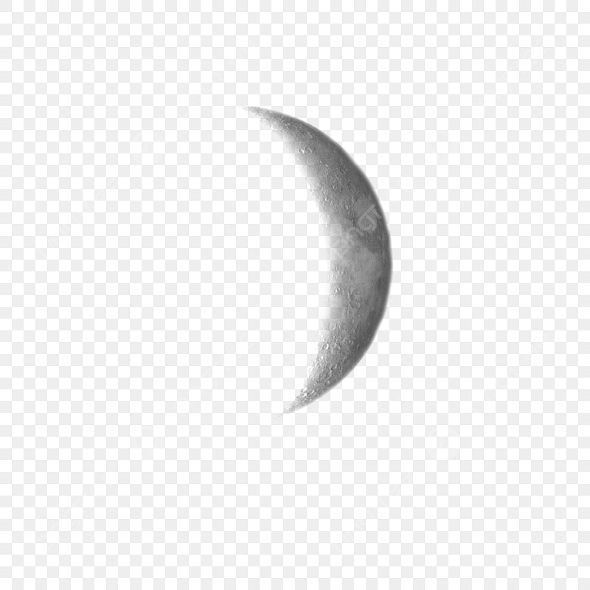 Half Moon Png Clipart Transparent Picsart Moon Png Clipart