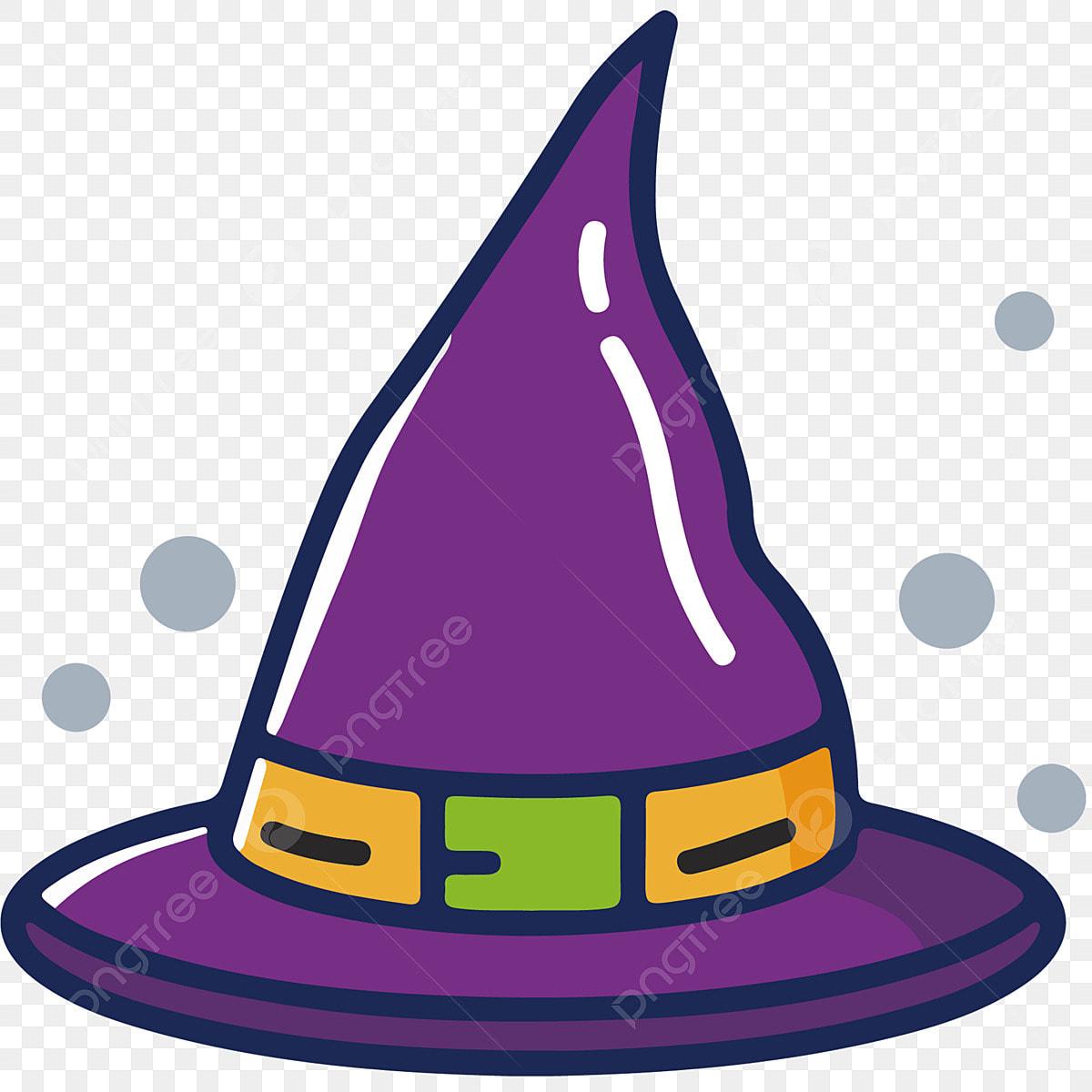 élément Meb Du Bonnet Sorcier Dessin Animé Halloween