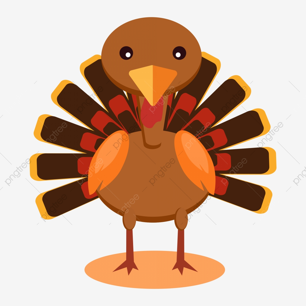 Cartoon Turkey Png Images Vector And Psd Files Free Download On Pngtree