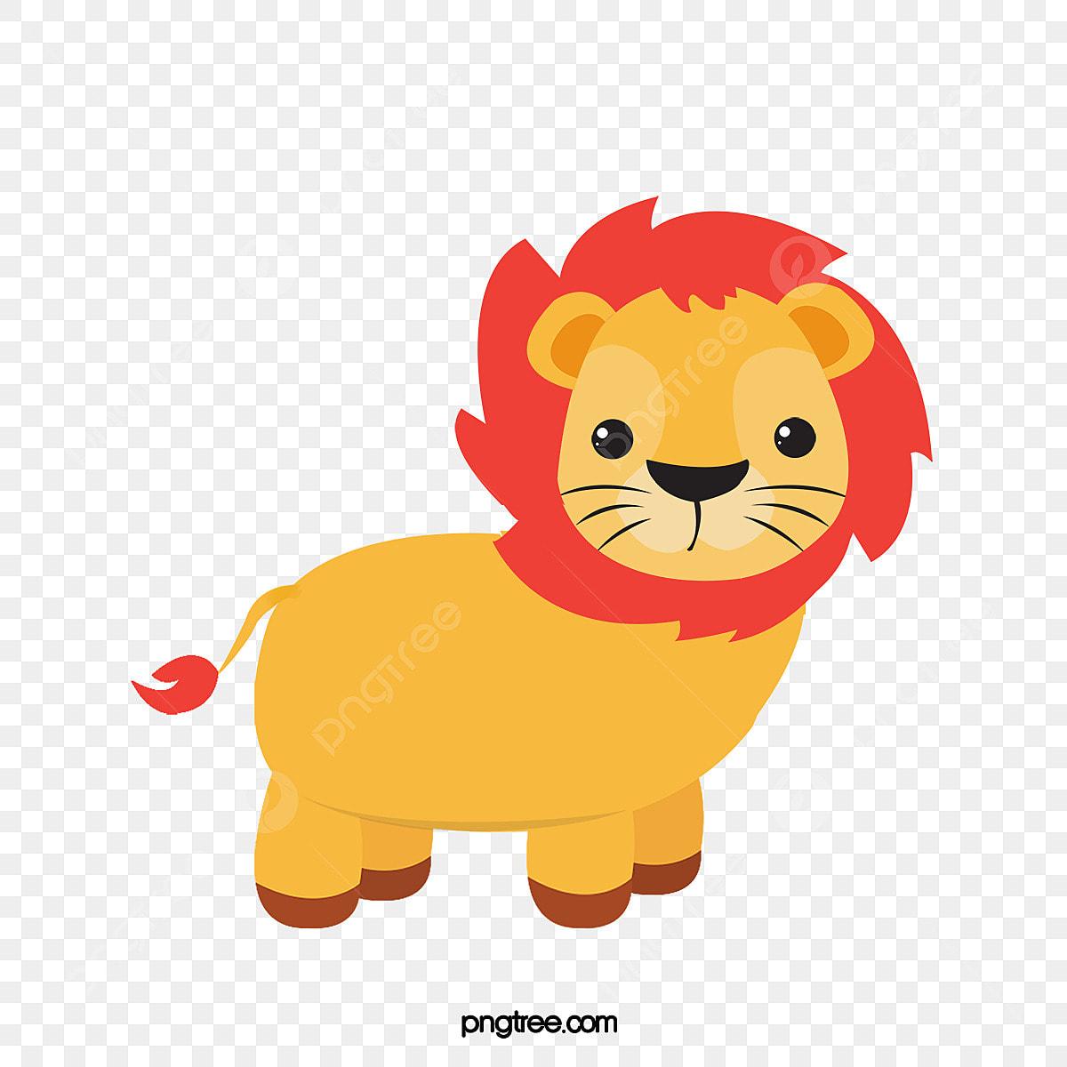 Orange Lion Clip Art