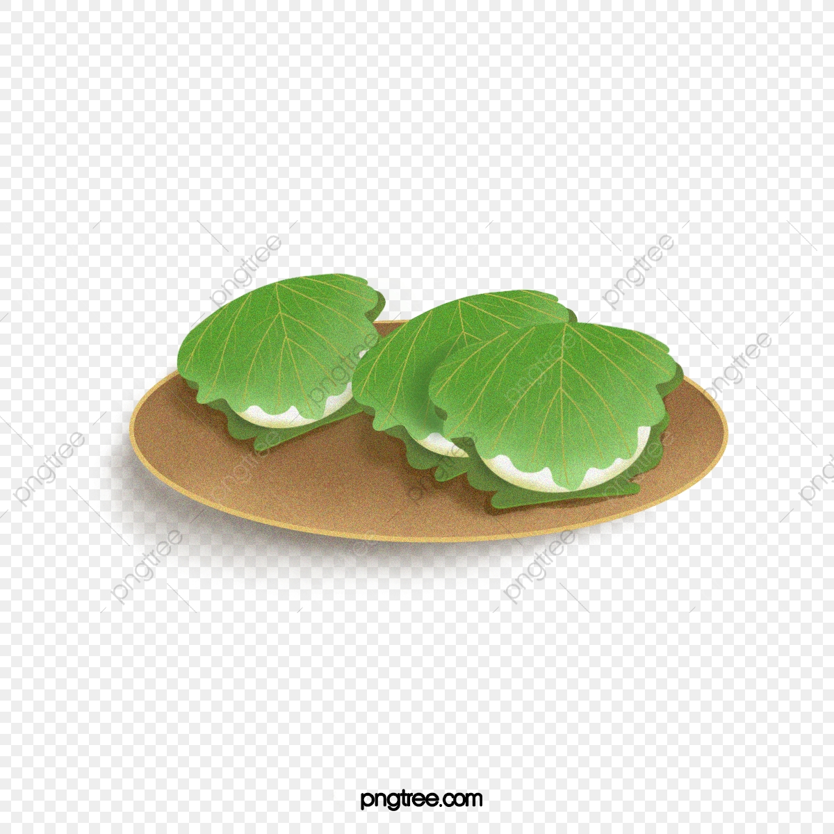 Handmade Pak Pie Kashiwa Pancakes Traditional Food Png