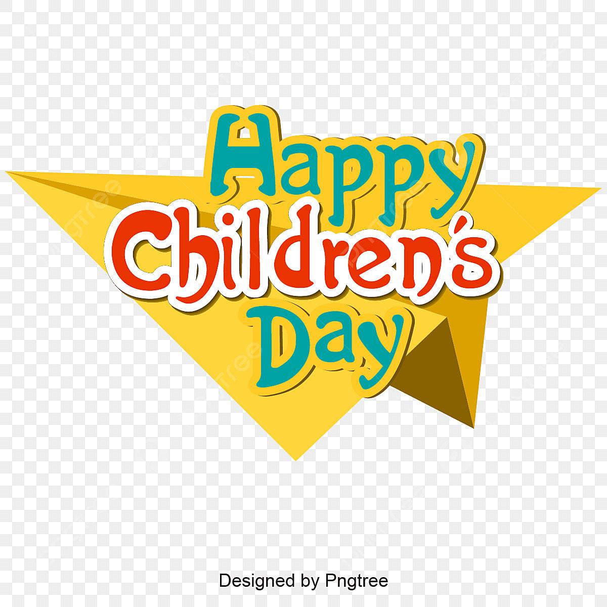 Happy Children's Day Cartoon Kids Picture