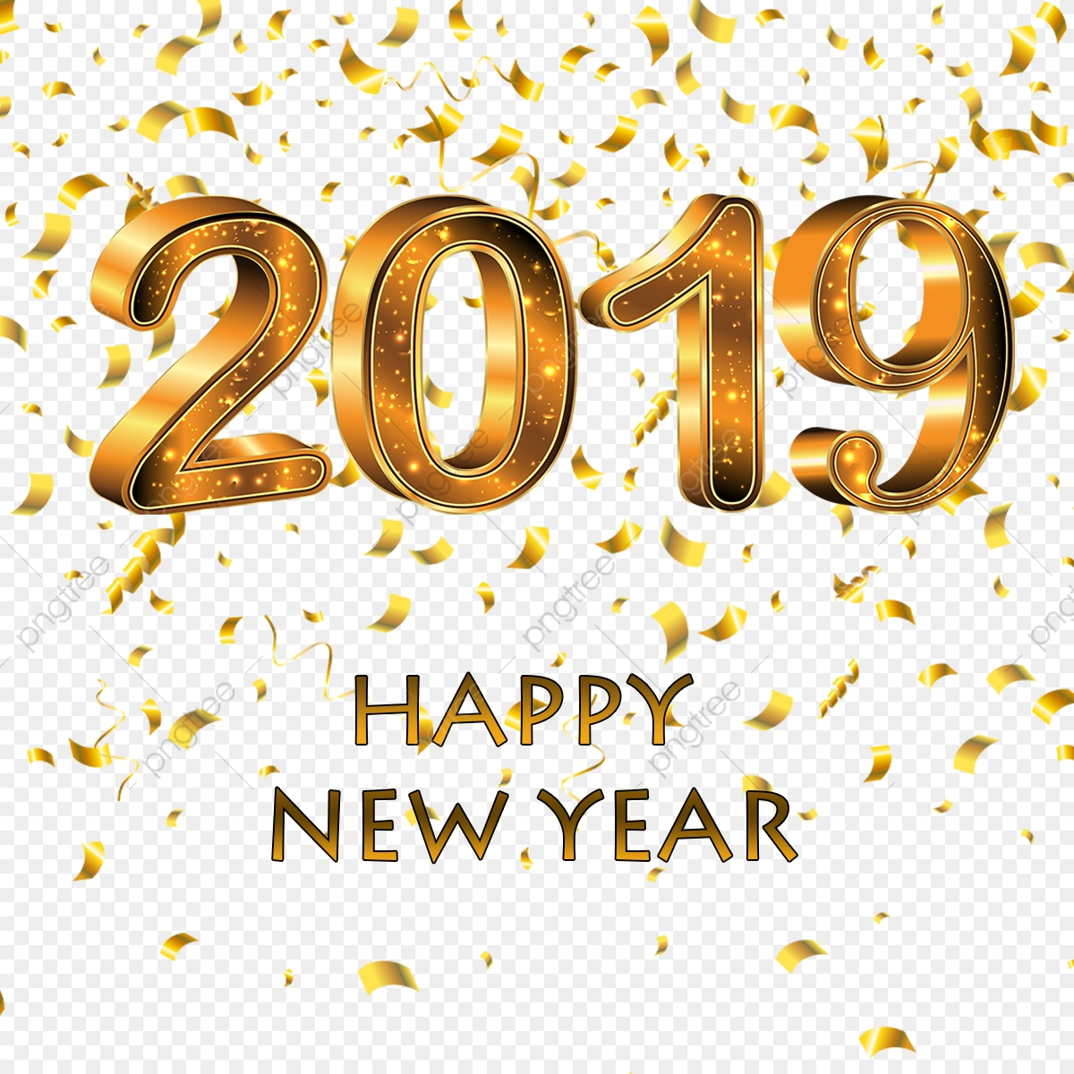 Happy New Year Png Images 4