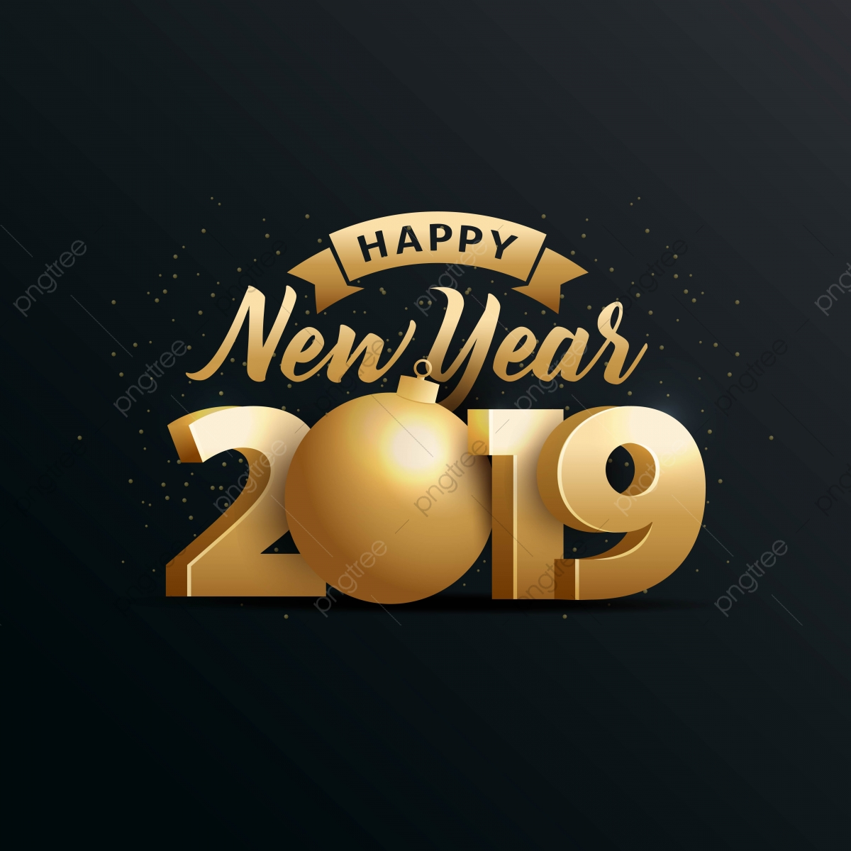 Happy Year 2019 With Gold 3d Happy Background Gold Png And Vector With Transparent Background For Free Download Download now the free icon pack 'happy new year'. https pngtree com freepng happy year 2019 with gold 3d 3689484 html