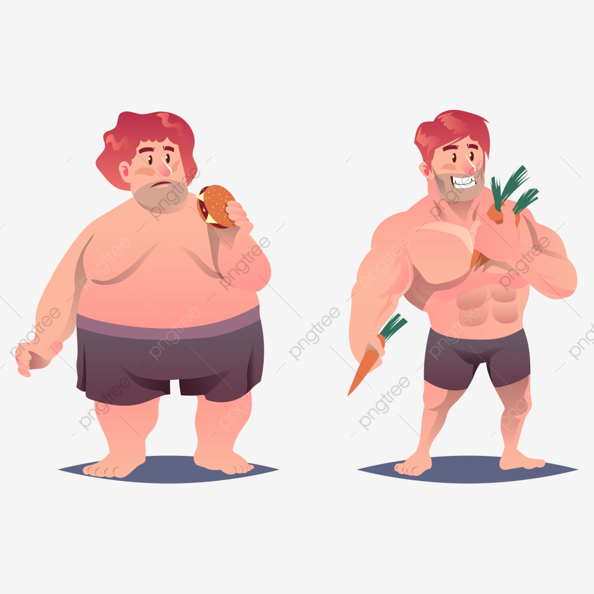 Como bajar de peso y marcar musculatura