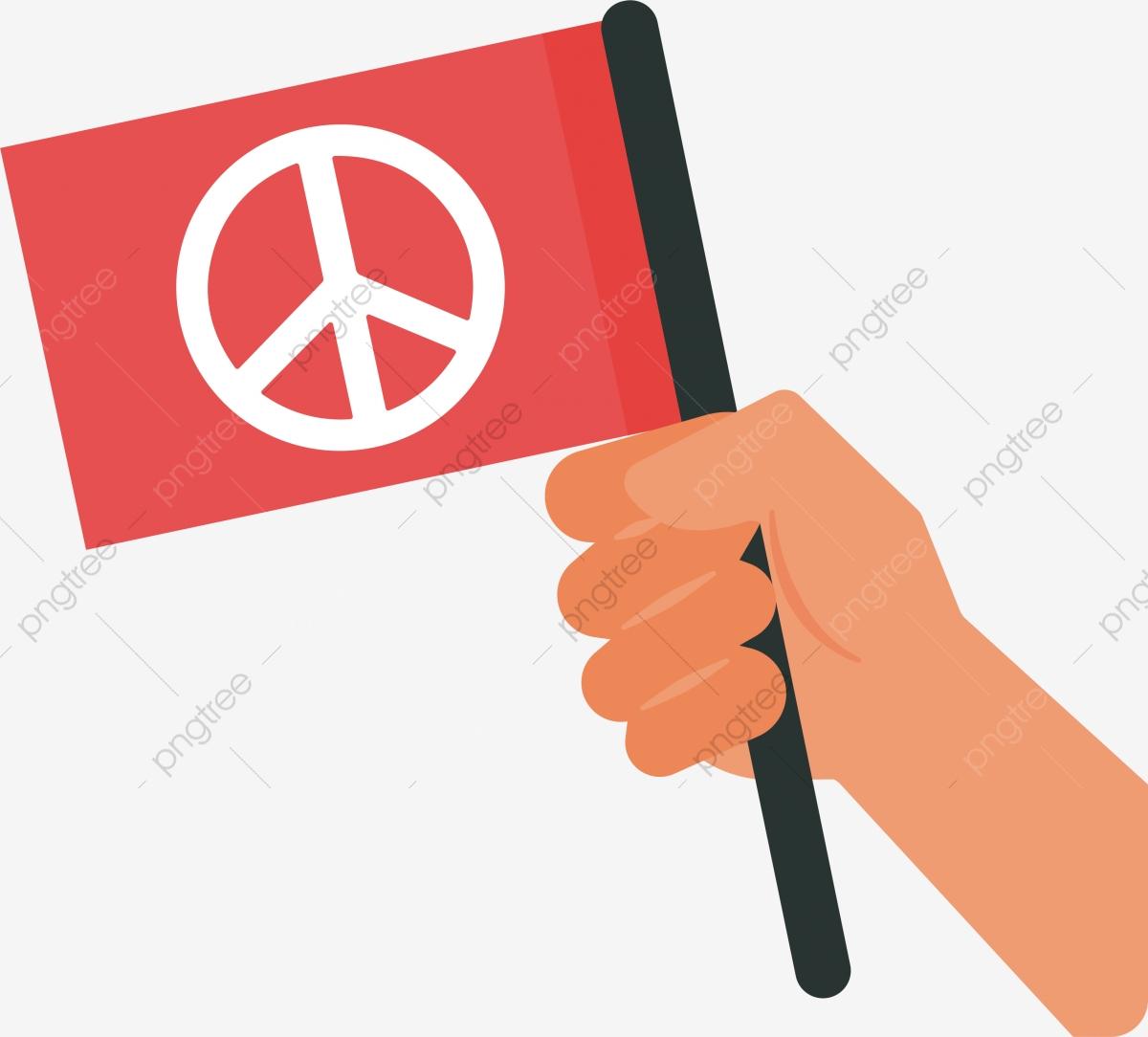 96 Gambar Kartun Tangan Memegang Bendera Merah Putih Cikimm Com