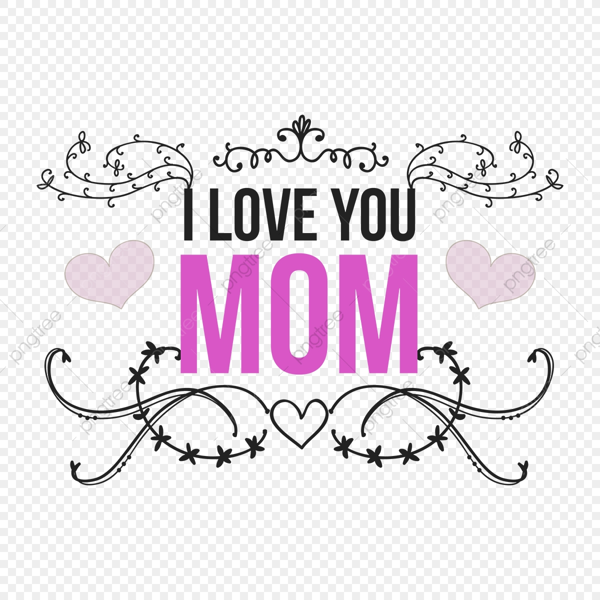 The Word Mother | Clipart Panda - Free Clipart Images | Love you mom, I love  you mom, Mom clipart