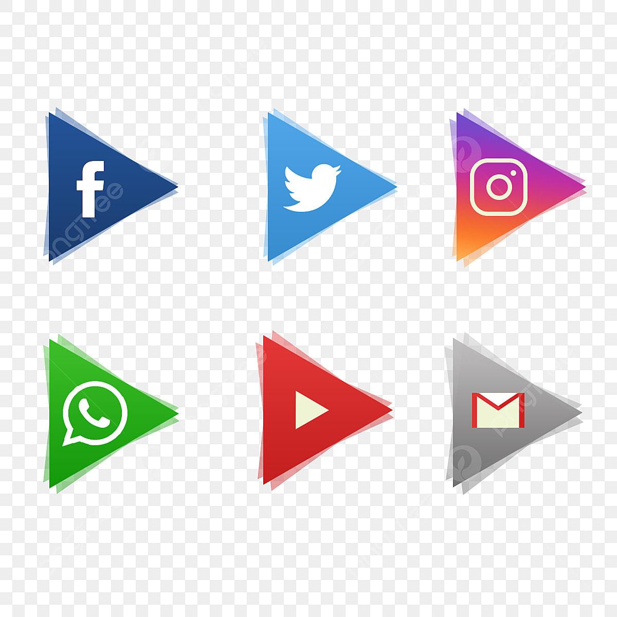 أيقونات مواقع التواصل الاجتماعي أيقونات وسائل التواصل الاجتماعي وسائل التواصل الاجتماعي شعار وسائل التواصل الاجتماعي Png وملف Psd للتحميل مجانا