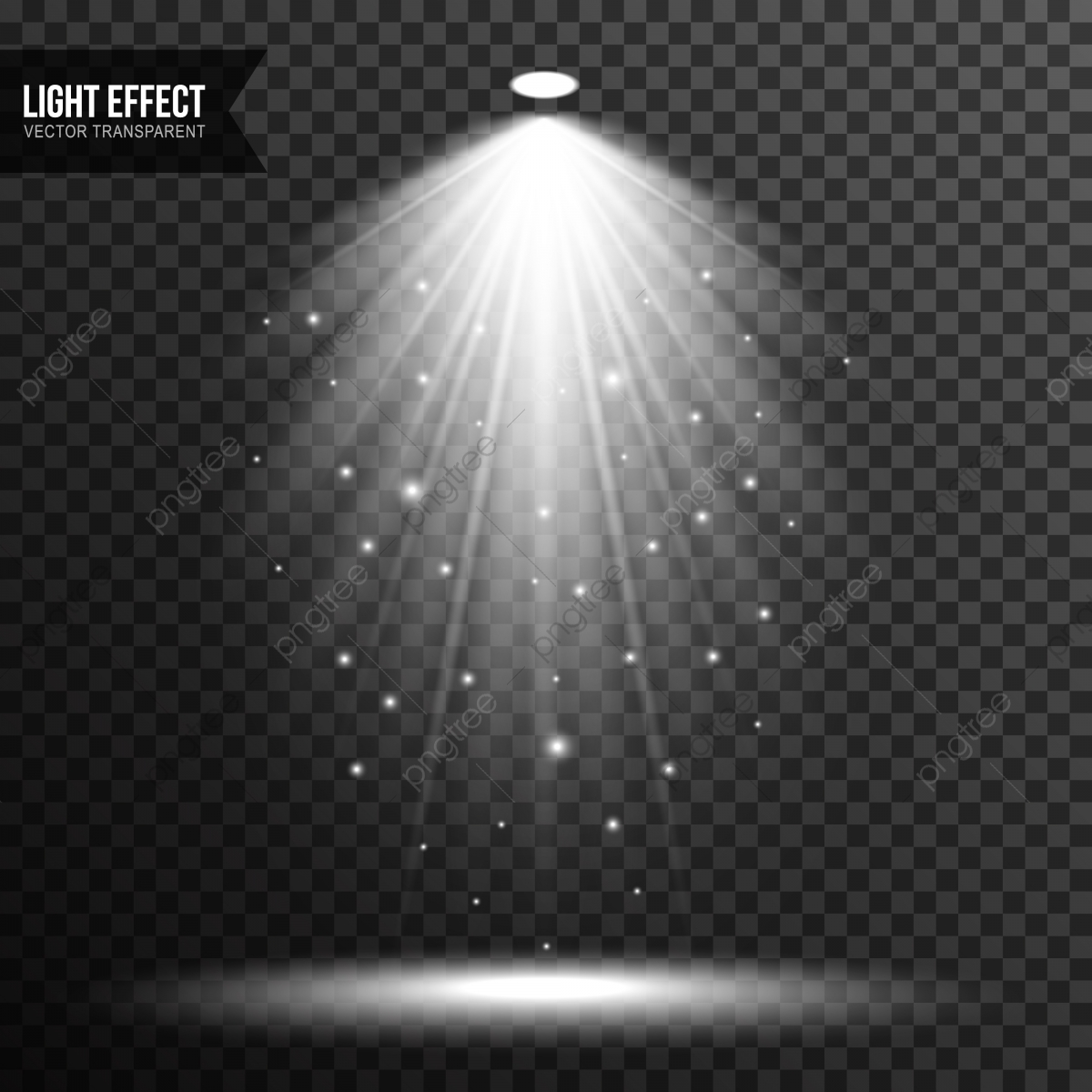 sc u00e8ne lumineux effets de lumi u00e8re vector transparent