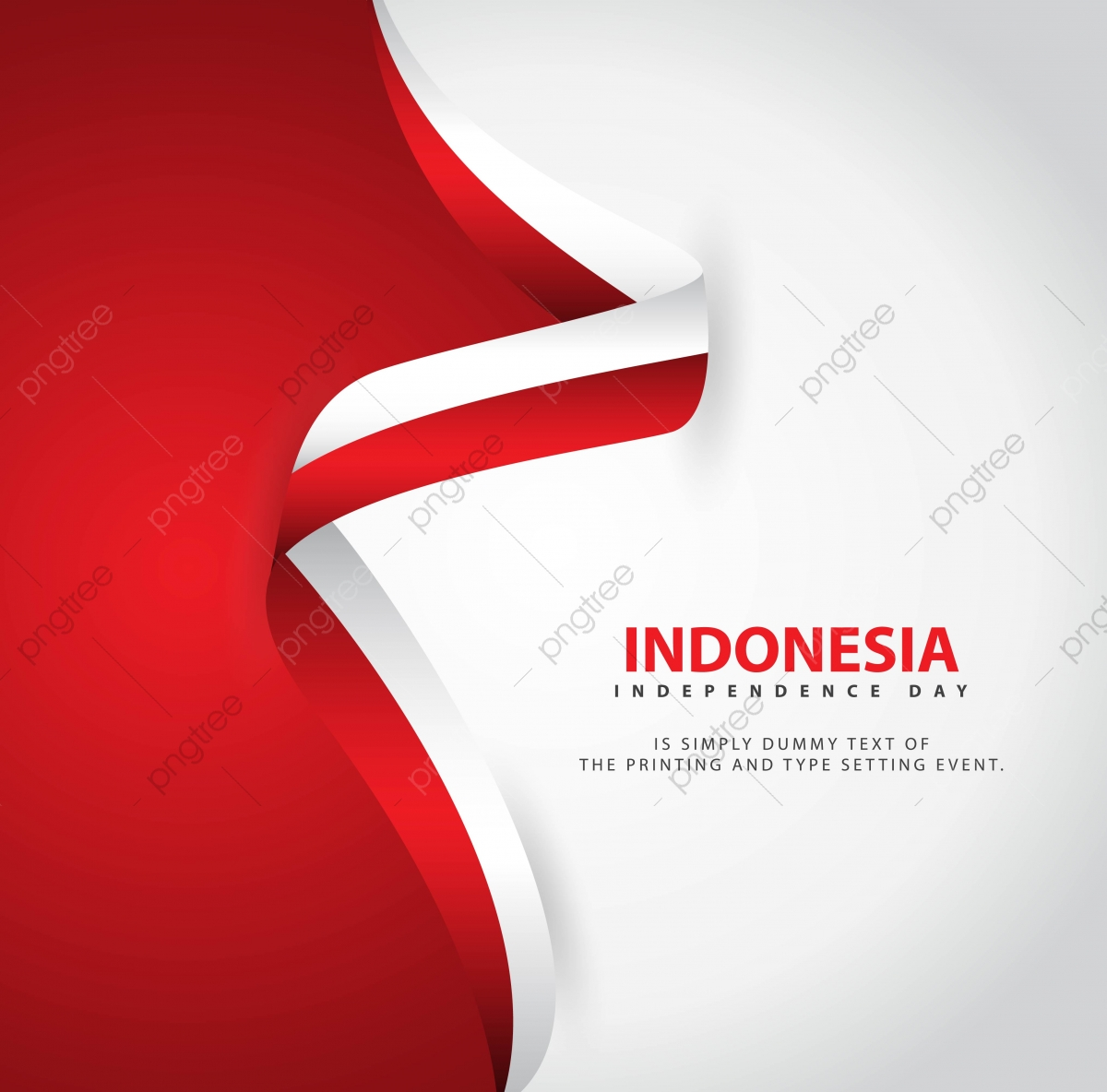 pngtree indonesia independence day vector template design illustration png image 4033669