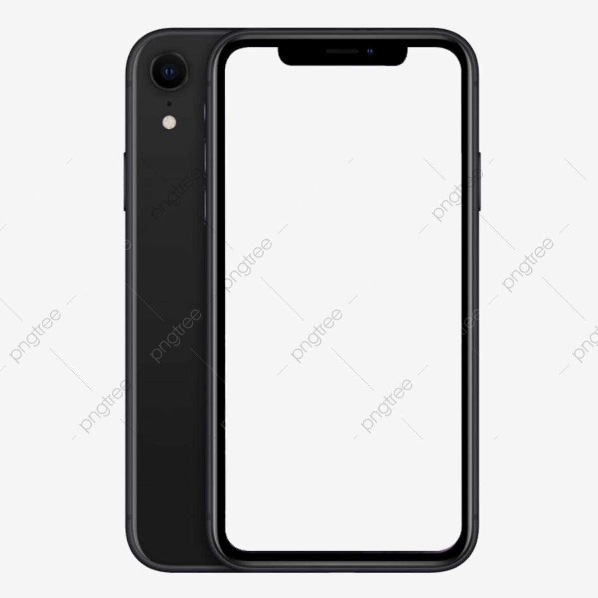 Iphone Xs Xs Max Jet Black Mockup Mobile Phone Replenishing Png