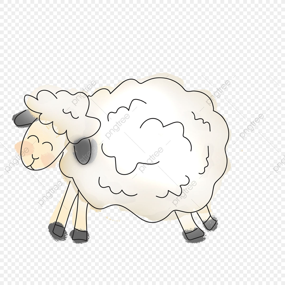 Sheep Clipart Png Images 400 Sheep Png Clip Art For Free