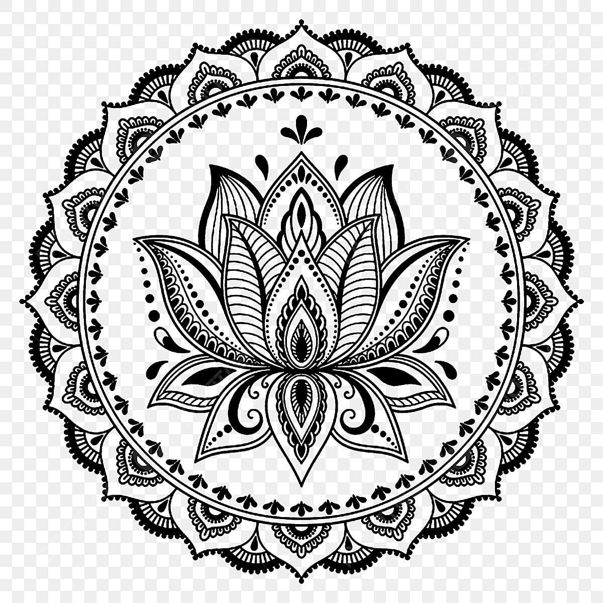 Lostus Flower Tattoovectorartworkfloral Lotus Flowertattoo