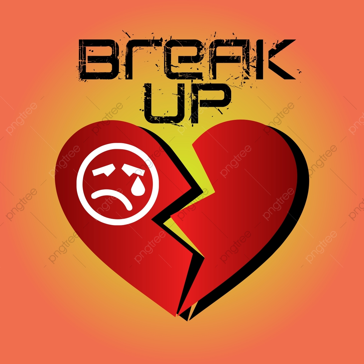 Love Break Up Love Failure Love Png Transparent Image And Clipart For Free Download