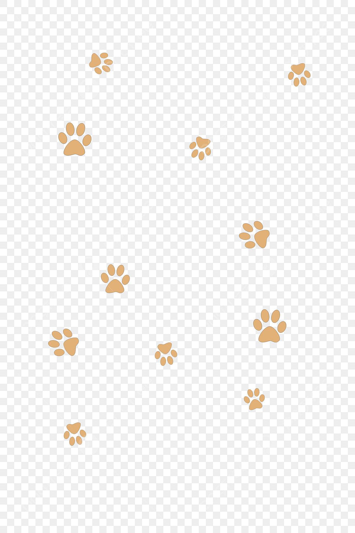 Lovely Float Creative Irregular Shape Cute Dog Paw Print