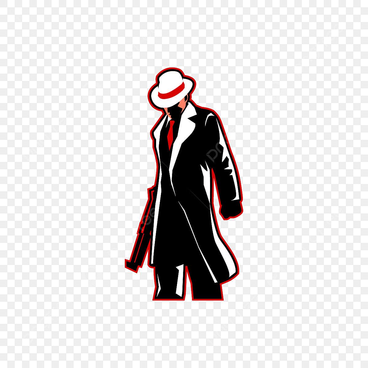 Mafia E Sport Logo Mascot, Mafia, Gangster, Crime PNG and
