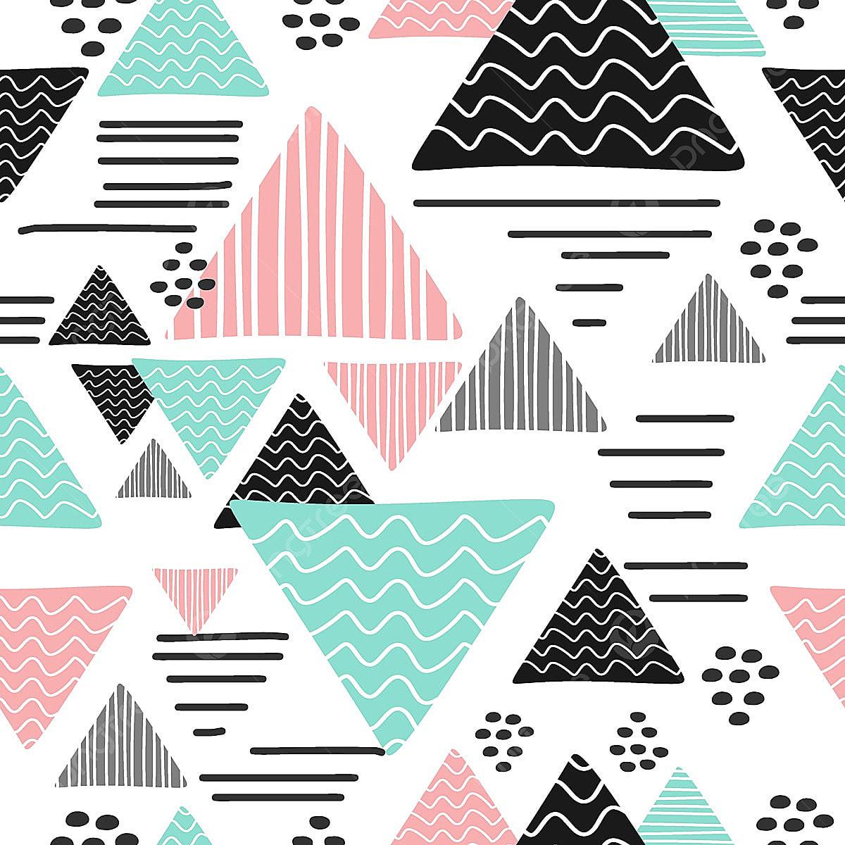 memphis hipster triangle r u00e9sum u00e9 pu u00e9ril dessin style tendance r u00e9sum u00e9 art contexte png et vecteur