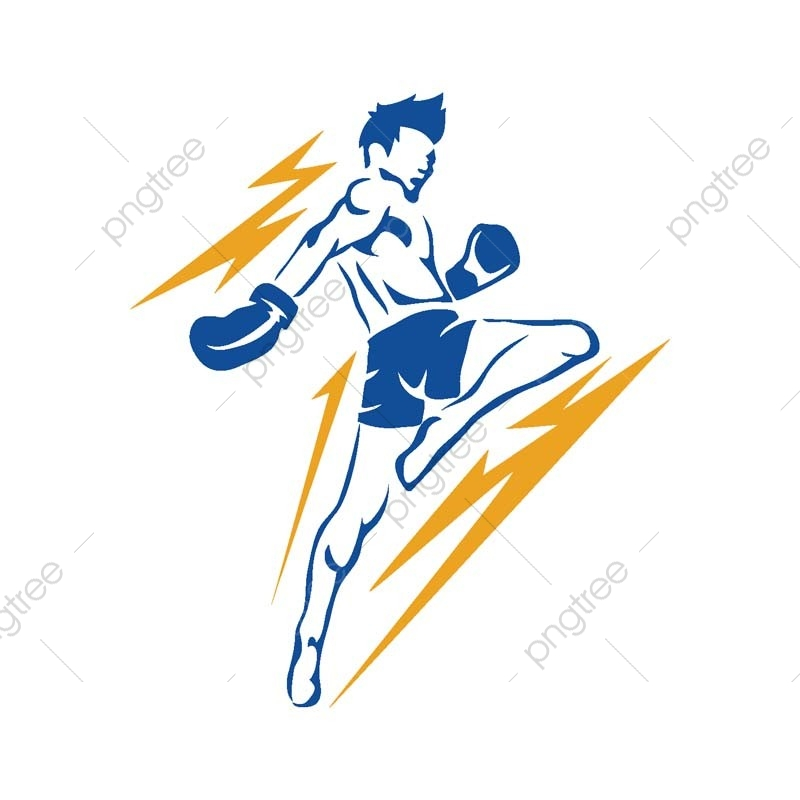 Modern Aggressive Mixed Martial Arts Sports Athlete In Action Logo Mma Fight Martial Png And Vector With Transparent Background For Free Download
