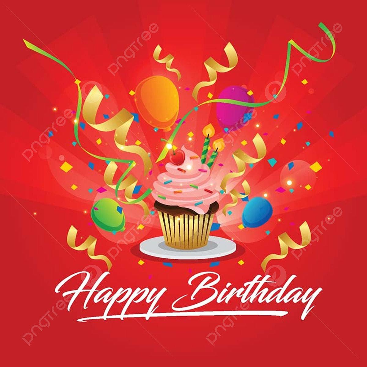 carte moderne illustre un joyeux anniversaire anniversaire f u00eate invitation png et vecteur pour