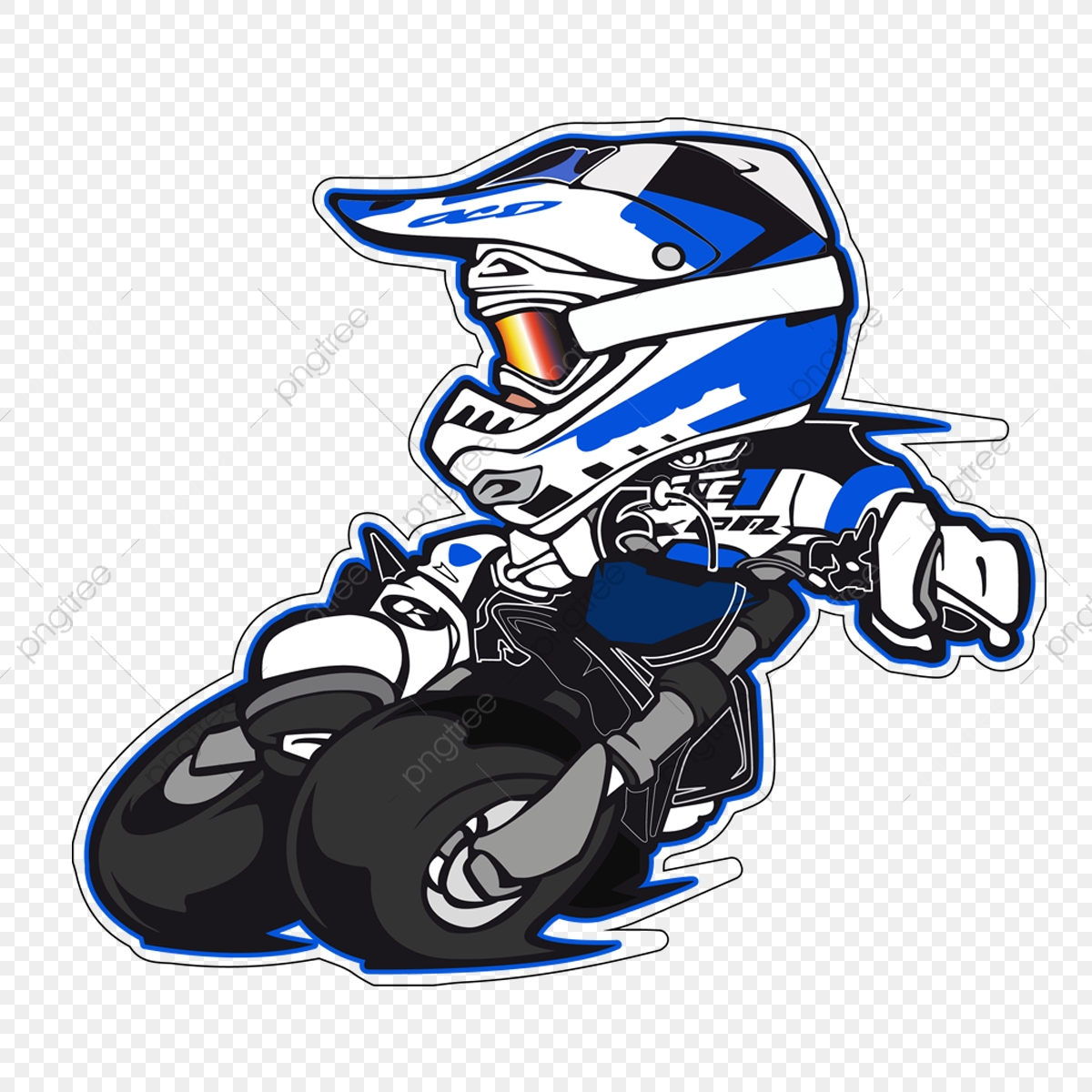 b510dcb3 Motocross, Png, Sports, Blue PNG and Vector with Transparent ...
