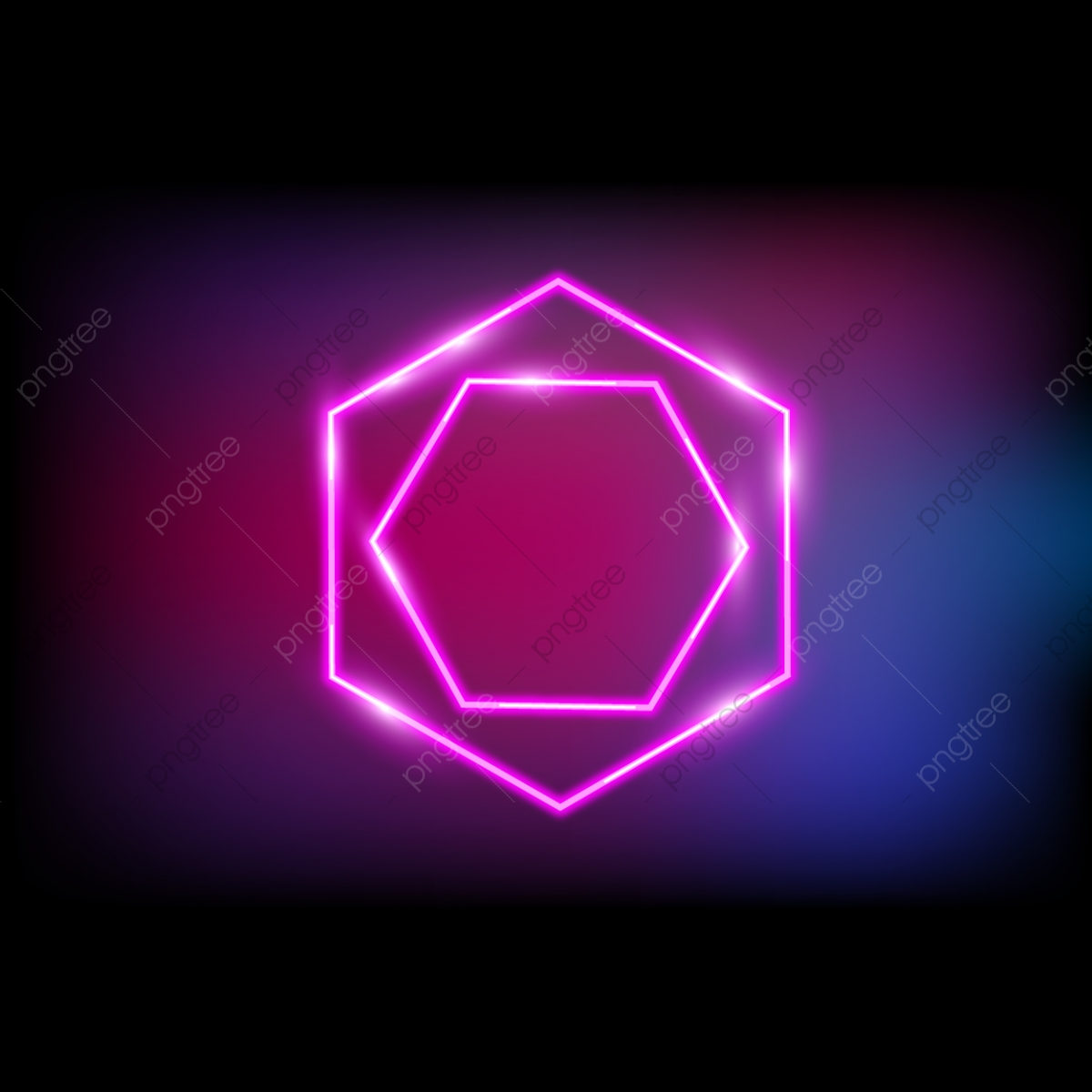 Neon Light, Glow, Neon, Rainbow PNG and Vector with Transparent