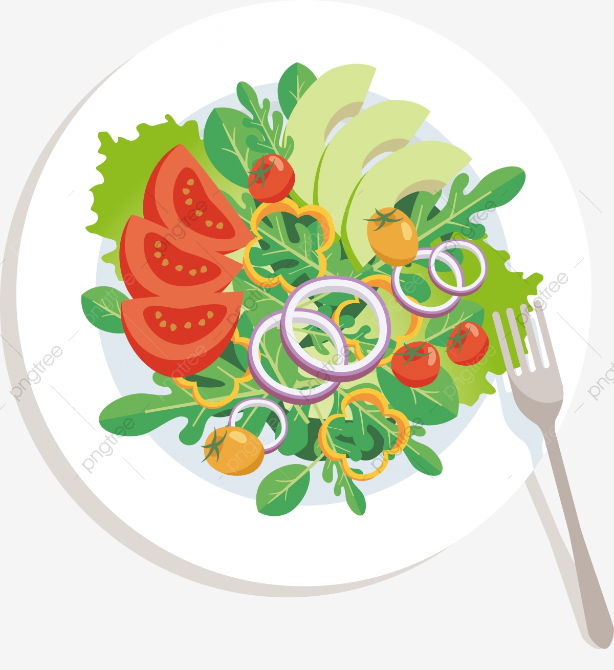 Salad Png Images Vector And Psd Files Free Download On Pngtree