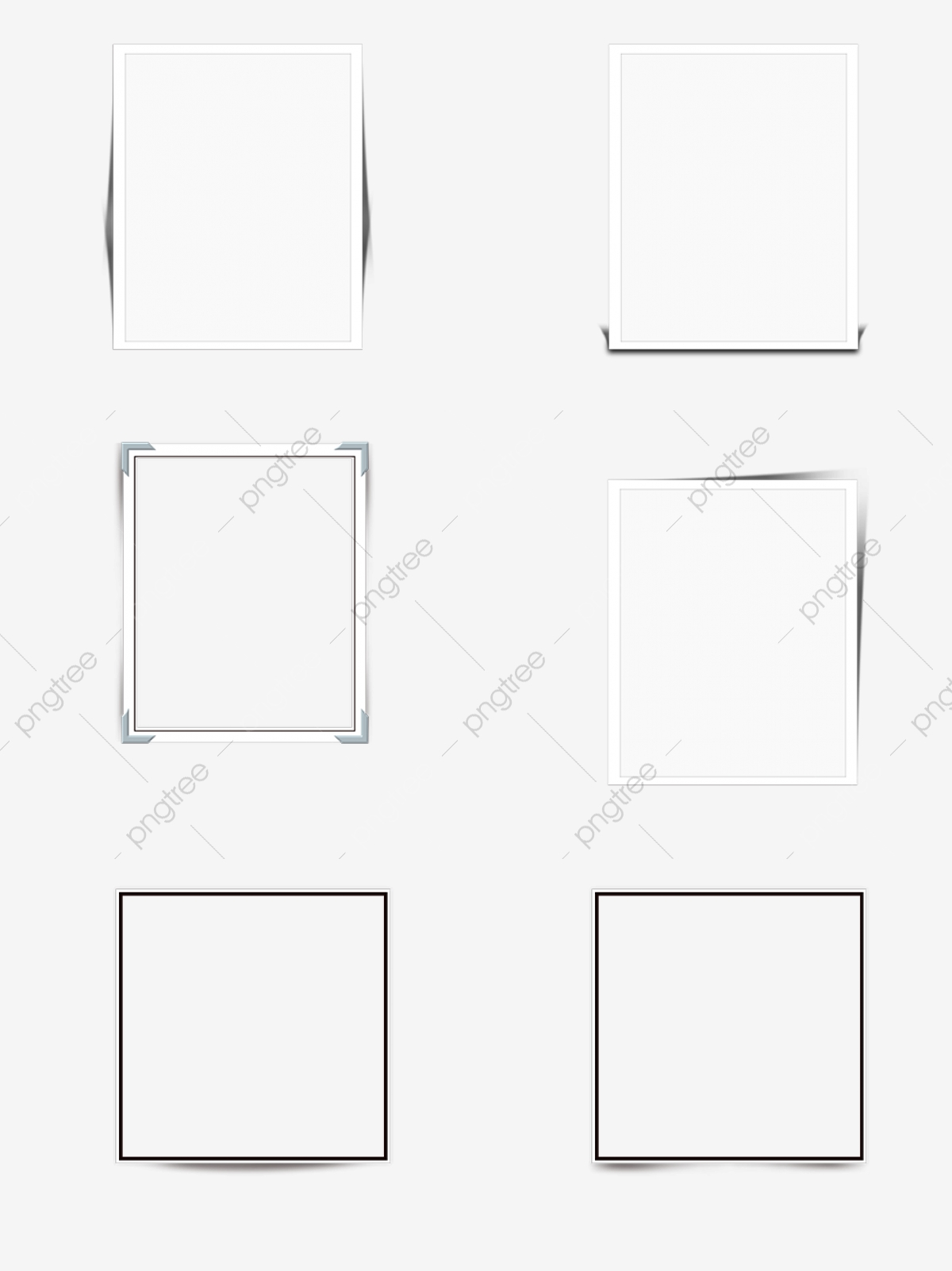 paper projection simple border for commercial elements  paper  shadow  paper shadow png
