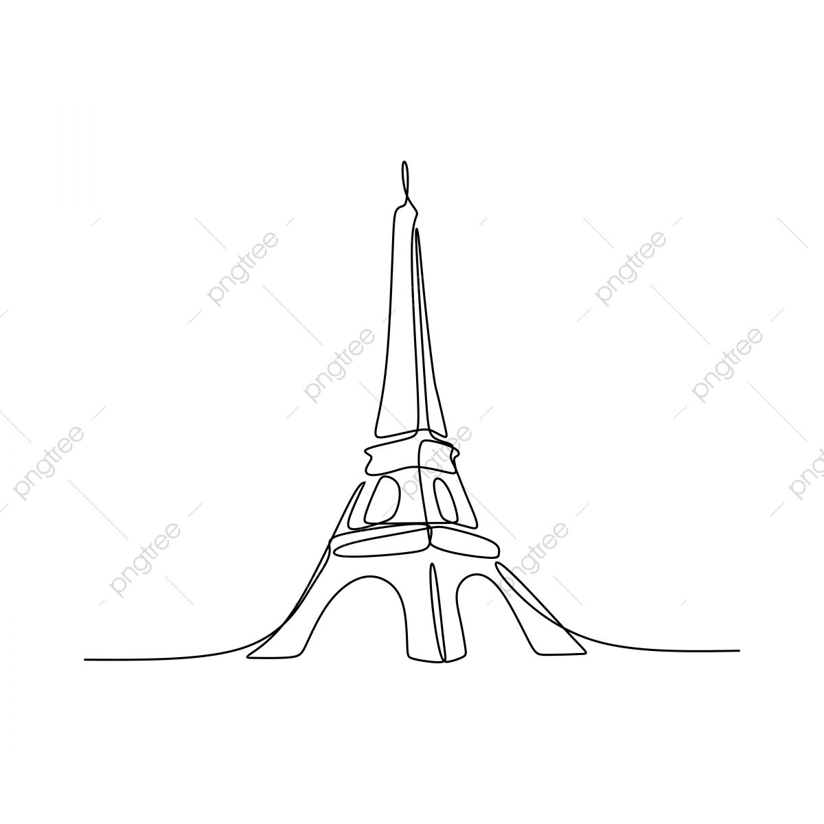 paris eiffel tower hand drawn vector illustration continuous line art single drawing isolated on white background paris isolated silhouette png and vector with transparent background for free download https pngtree com freepng paris eiffel tower hand drawn vector illustration continuous line art single drawing isolated on white background 4099800 html