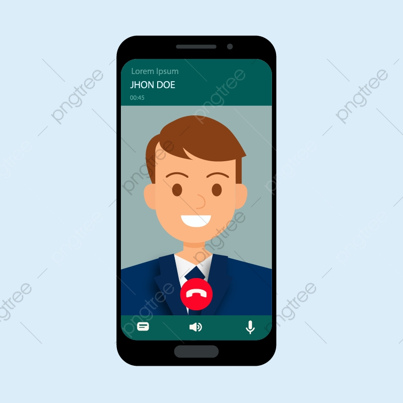 Phone Call Smartphone, Whatsapp, Chat, App PNG and Vector with