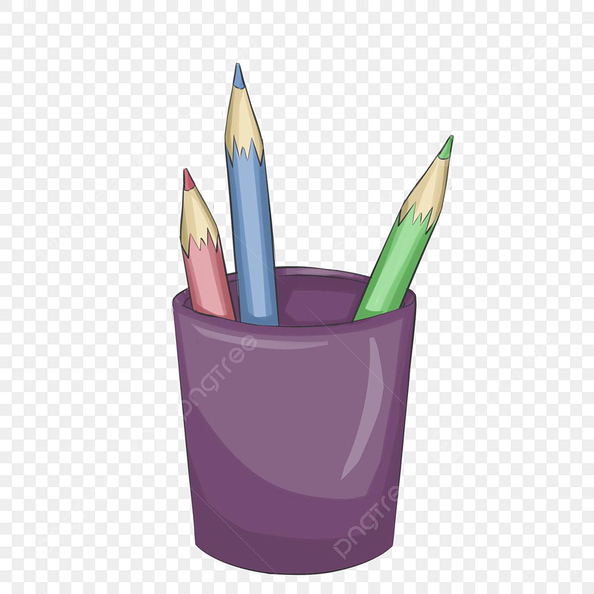 Bút Màu Tím đồ Dùng Học Tập Bút Chì Màu Hộp đựng Bút đẹp