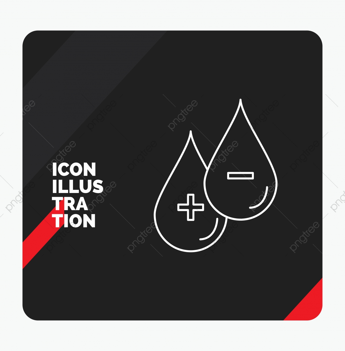 Red And Black Creative Presentation Background For Blood Drop Presentation Icons Black Icons Creative Icons Png And Vector With Transparent Background For Free Download