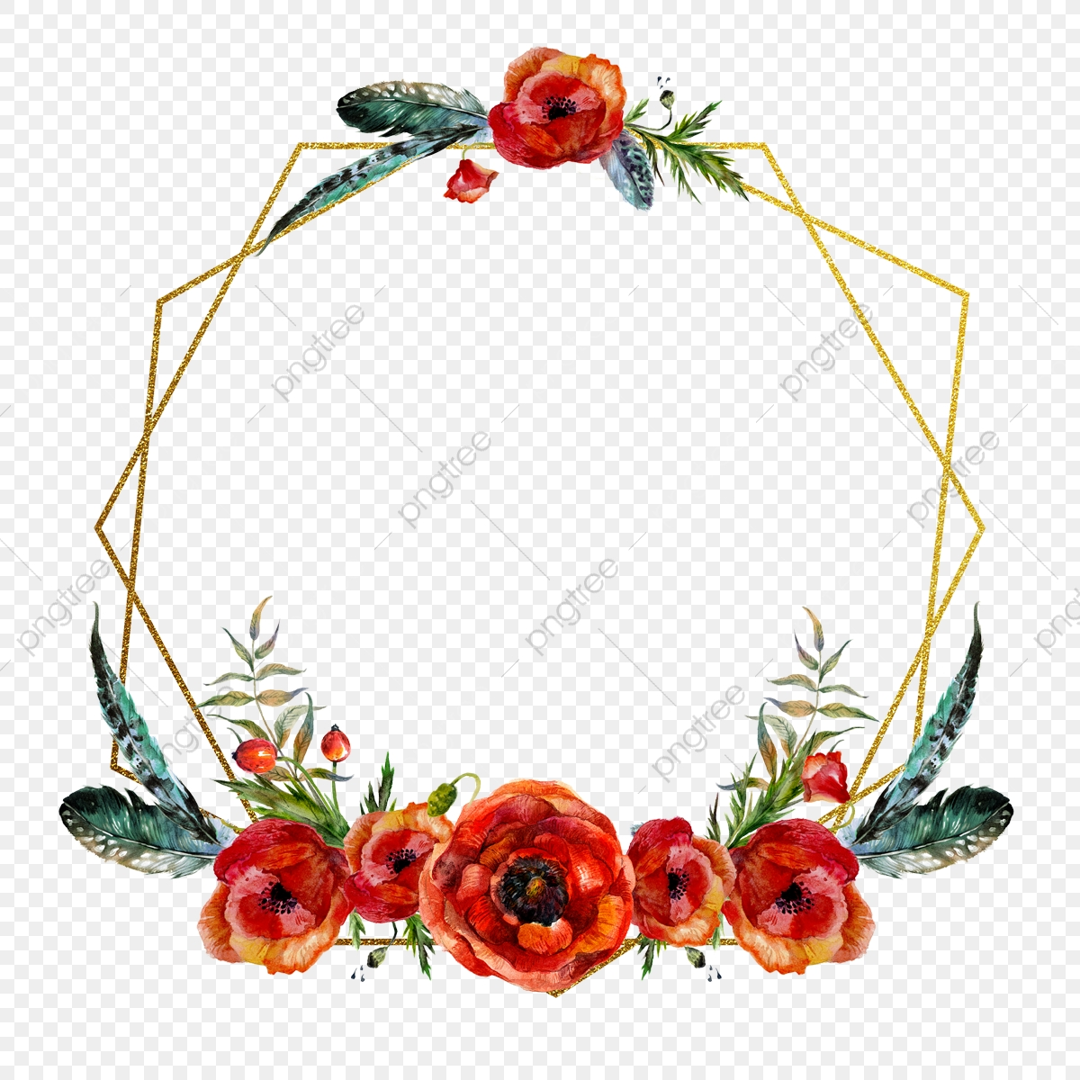 red flower irregular frame red flower red flower frame png transparent clipart image and psd file for free download https pngtree com freepng red flower irregular frame 4008892 html